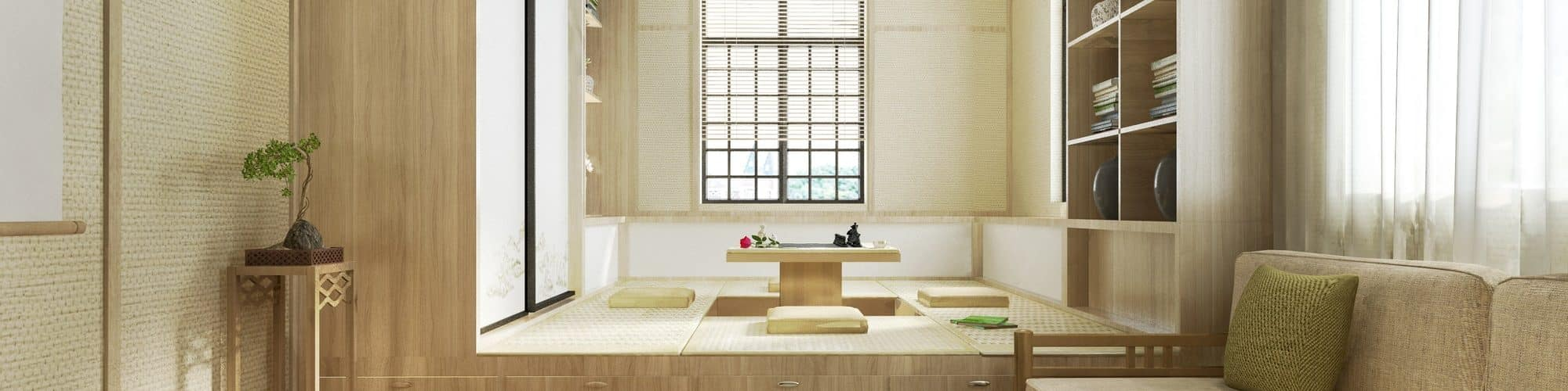 Learn more about Japanese interior design, which focuses on minimalism, practicality, and philosophy to improve wellbeing.