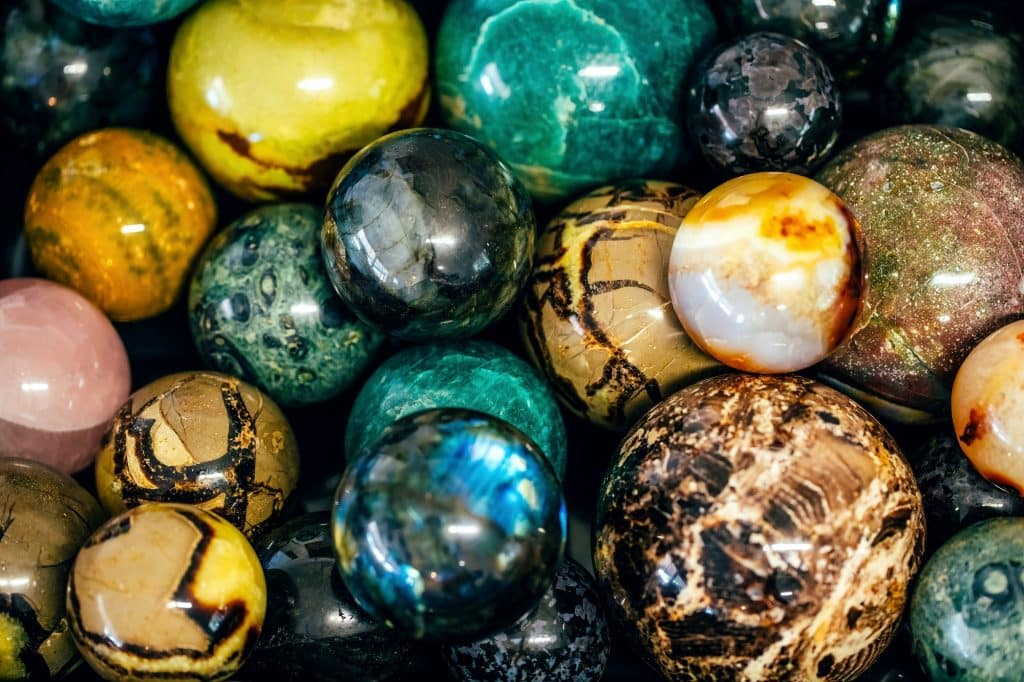 """Tumbled stone jewelry makes a wonderful gift, especially if put extra effort into picking out stones that """"fit""""—in this case, zodiac sign stones!"""